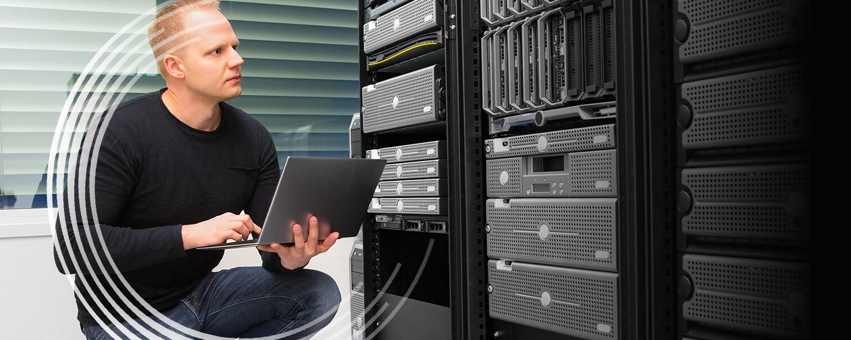 Suporte e manutenção de infraestruturas da Rede Serviços